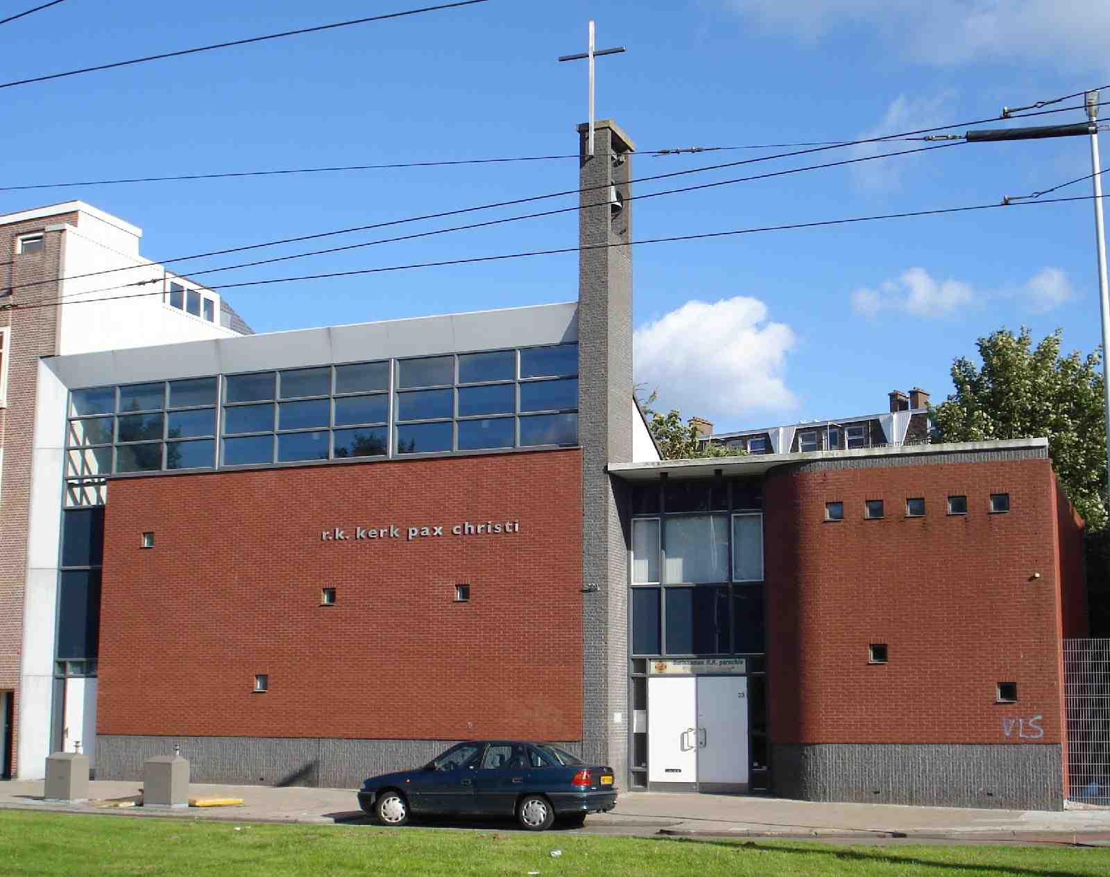 Rotterdam kerk Mathenesserdijk Pax Christi